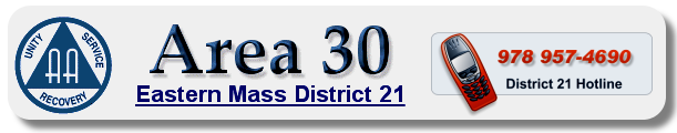 Alcoholics Anonymous EMass District 21